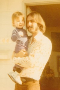 Pop and me sometime in 1971.