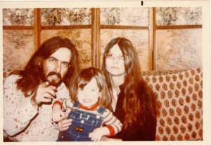 A family portrait from around 1972.
